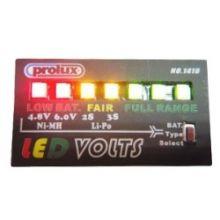 Prolux Volt-Saver security Alarm w/LED Indicator