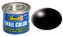 Revell Enamel Paint number 302 silk matt black