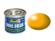 Revell Enamel Paint number 310 silk matt lufthansa yellow