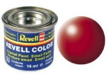 Revell Enamel Paint number 330 silk matt fiery red
