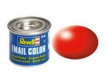 Revell Enamel Paint number 332 silk matt luminous red