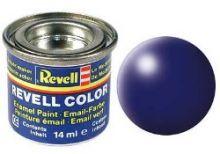 Revell Enamel Paint number 350 silk matt lufthansa blue
