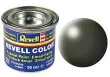 Revell Enamel Paint number 361 silk matt olive green