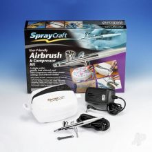 SP30Kc Airbrush & Compressor Kit (Top Feed)