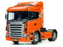 Tamiya Scania R470 pre painted Orange