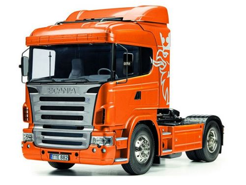 Tamiya Scania R470 pre painted Orange