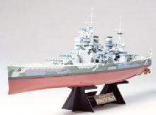 Tamiya Prince of Wales model ship