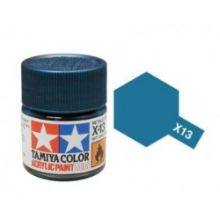 Tamiya mini acrylic paint 10ml X-13 metallic blue