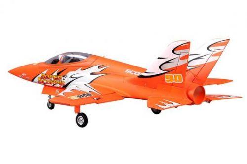 FMS Super Scorpion 90mm EDF ARTF Orange