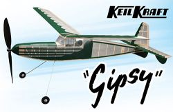 "Keil Kraft Gipsy Kit - 40"" Free-Flight Rubber Duration"